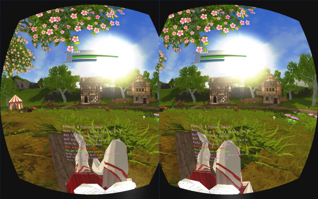Chat added to Oculus Rift-mode
