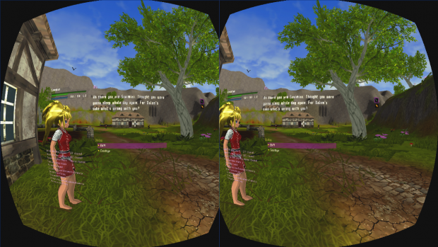 NPC Dialogs in Oculus Rift-mode