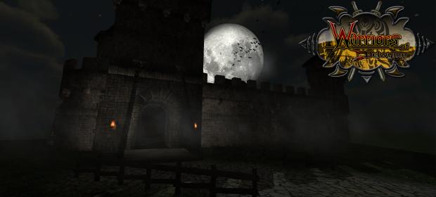 Version 1.34 Login Screen for Warriors Of Delwymn