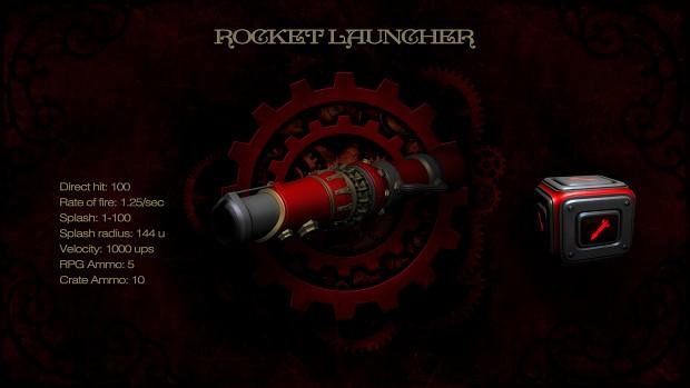Rocket launcher loading screen