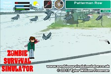 Zombie Survival Simulator - Crows