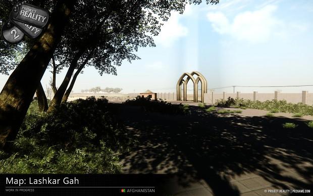 Lashkar Gah Map - WIP