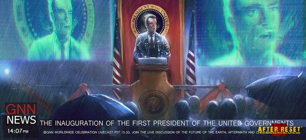 The first President of UG Inauguration