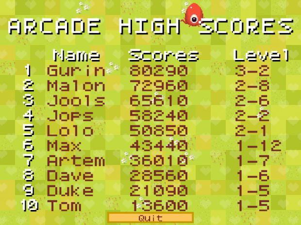 Binary Maze menu screenshots