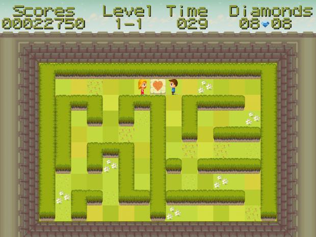 Binary Maze gameplay screenshots