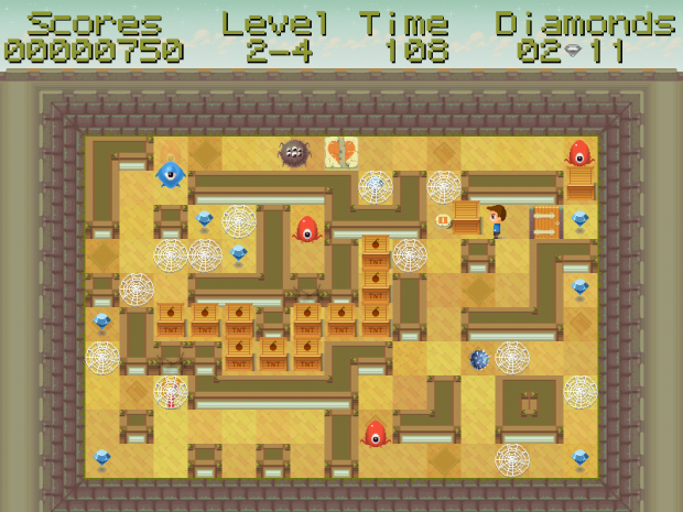 Binary Maze beta03 screens