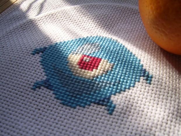 Cross-stitched Bo