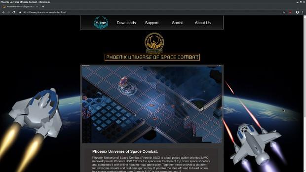 New website design.