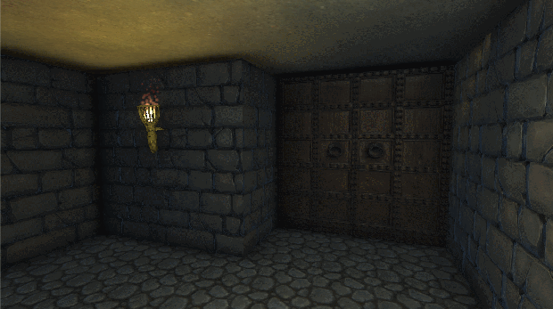 The door used to finish a level