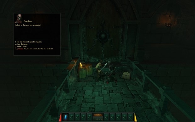 Noverat Screenshot 1.05 - Event Choices