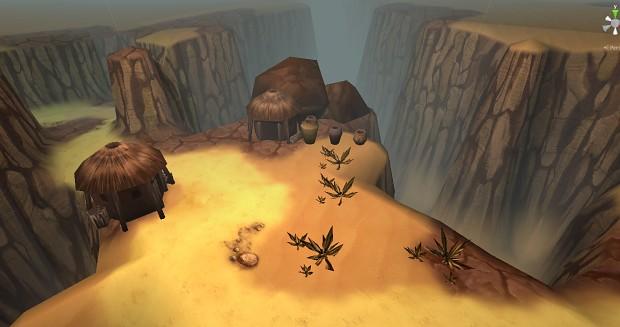 World Preview - Desert Castle