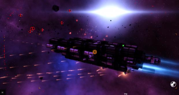 Cruiser in Battle