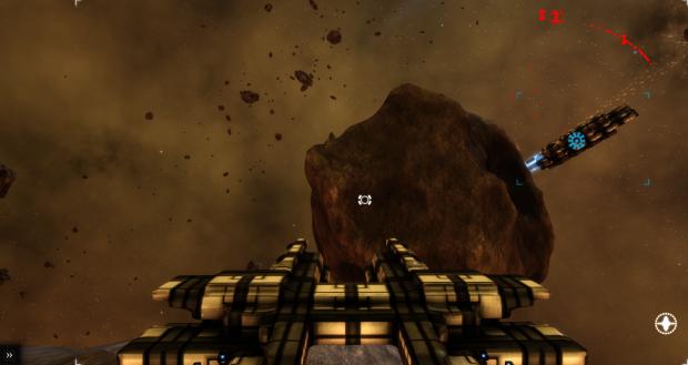 Hidden Asteroid Base