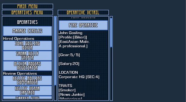 Prototype Screenshots