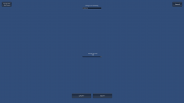 The settings menu