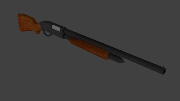 The textured Hunting shotgun