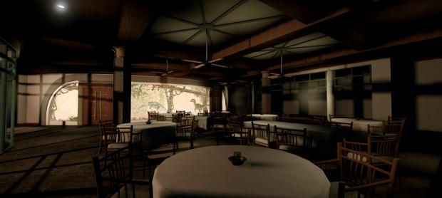 Cretaecious cafe,work in progress.