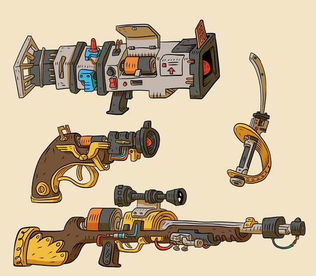 Weapons Concept
