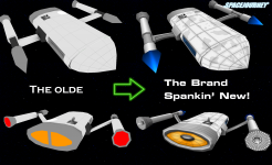 Ship Update Comparison Shot: