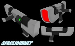 Old SpaceJourney Gun