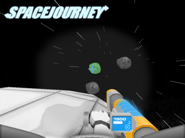 SpaceJourney v1.2.1 Preview: Gun GUI