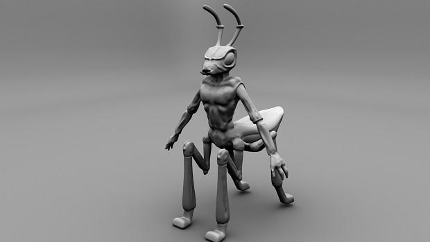 insectoid species model