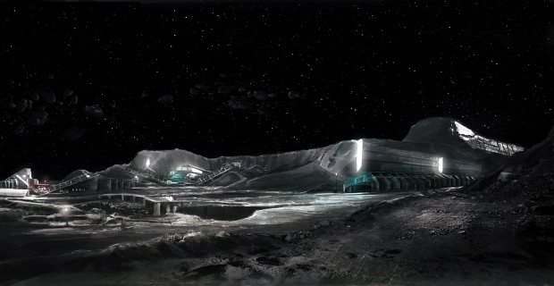 The Asteroid Belt Mining Facilities
