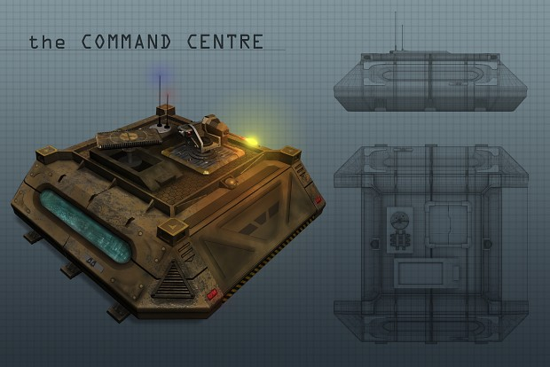 Command Centre Level 1 3D Concept