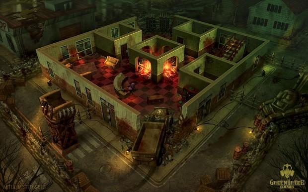 Survival Game Build Shelter