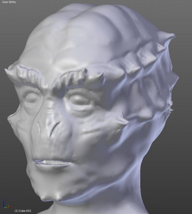 Unas sculpt