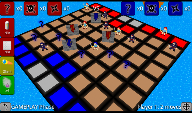 Board mid-game