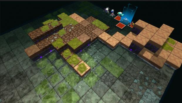 new water terrain