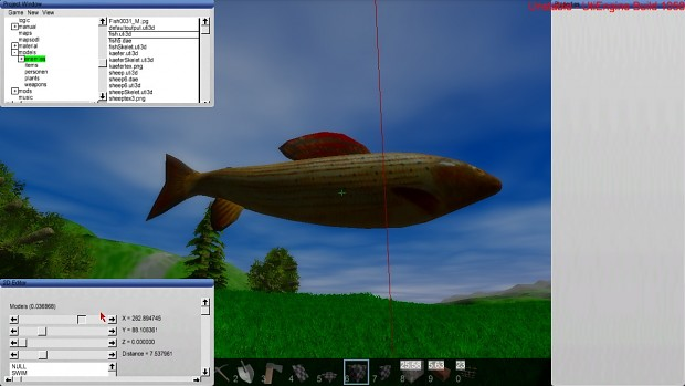 The toolchain for importing animated models is working!