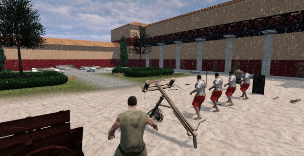 Ballista in the ludus