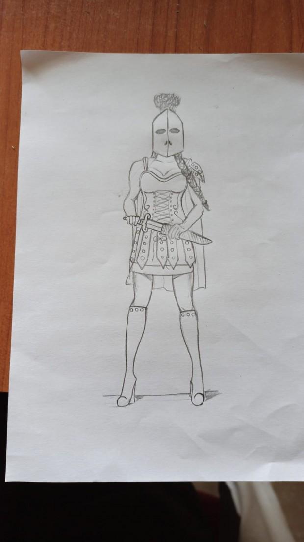 Gladiatrix concept
