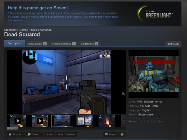 Now on Greenlight