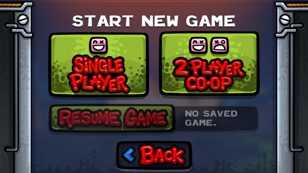 No Saved Game