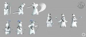 Polar Bear Character- Concept Art