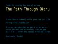 The Path Through Okaru