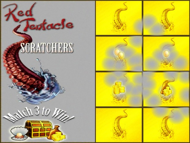 The new Scratcher and Match Game for Tap the Glass