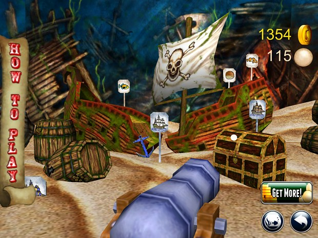 Shooting Gallery MiniGame