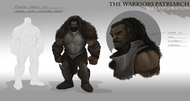 Warrior's Patriarch idea exploration _02