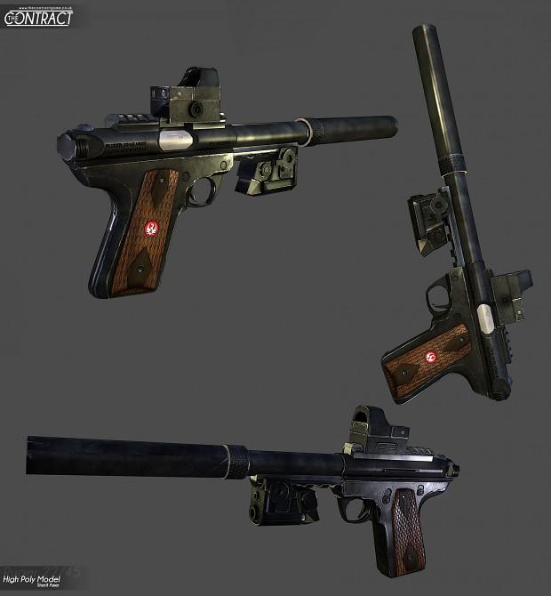 Ruger Mk 3 22/45