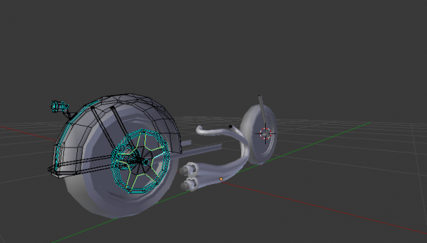 Working on bober model in Blender.