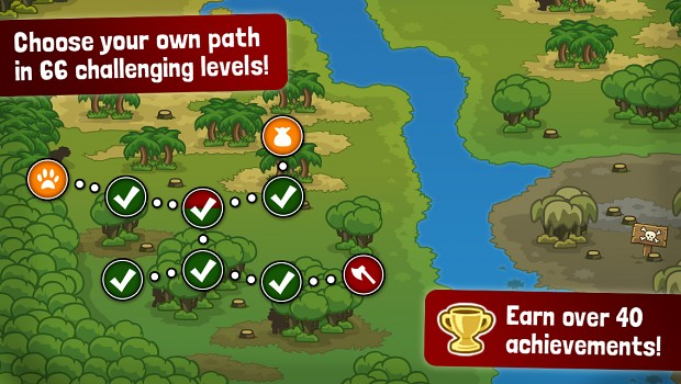 Castle Defense Game for iPad, iPhone, Android