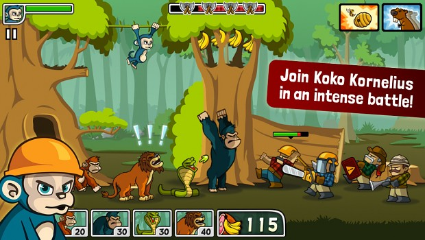 Tower Defense Game - Lumberwhack Screenshot