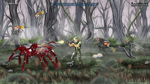 New swamp graphics