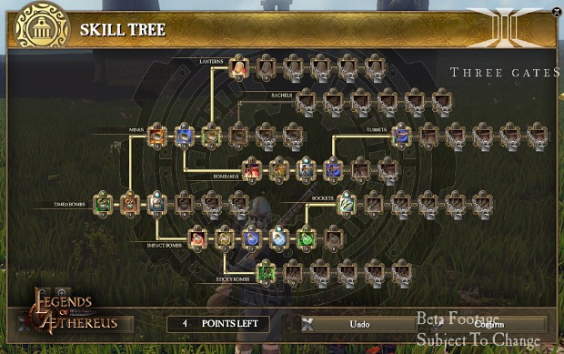 The Inventor Class Skill Tree