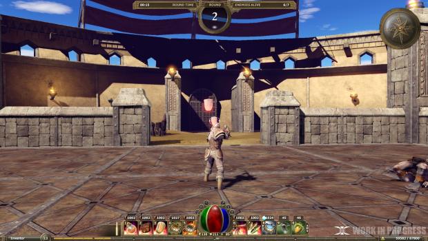 Legends of Aethereus - Inventor Arena Battle