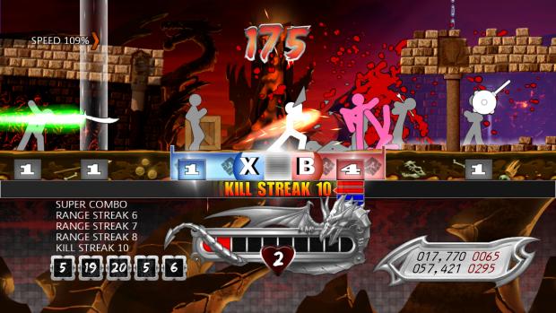 One Finger Death Punch screen shots